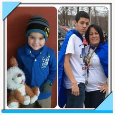 """I have Robert, 16, and Chris, 4, with autism.  It is a struggle but i decided instead of complaining to live day by day.  Thanks for everything you are doing."" Facebook name: Kiomary Pagan-Testa"