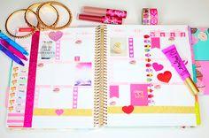 How I Organize & Decorate My Planner (Erin Condren) | missBRAWR