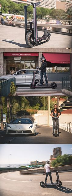 This stealthy scooter is crafted and built as a daily driver can take two people, its unstoppable even in the worst gridlocks... READ MORE at Yanko Design !