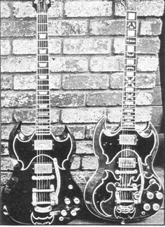 Two 1959 Gibson SGs owned by John Cipollina. Who else was there?