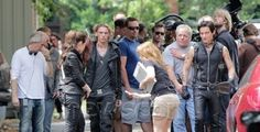 'The Mortal Instruments' filming kicks off, on-set photos featuring lead stars surface
