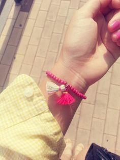 Two Tassel Bracelet