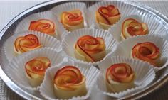New Fruit Tart Dessert Apple Roses Ideas Tart Recipes, Apple Recipes, Sweet Recipes, Dessert Recipes, Cooking Recipes, Fruit Recipes, Apple Rose Tart, Apple Roses, Recipes