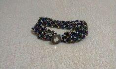 bracelet, spiral, beads