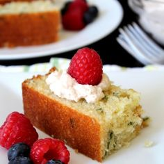 Lemon Basil Cake - Good morning! I hope everyone had a lovely weekend. The weather outside was beautiful! Unfortunately, I couldn't say the same about the inside of my house. It was like an oven! Hot, hot and very hot. Regardless of the temperature, I was still in...
