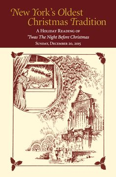 Wedding Gift Experiences New York : New Yorks Oldest Christmas Tradition! When public readings of beloved ...