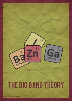 Big Bang Theory artwork...artist unknown