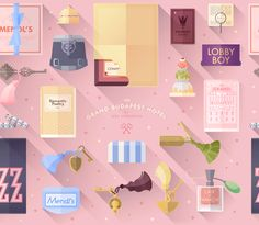 Lorena G is a Barcelona-based graphic designer with a thing for Wes Anderson movies. So much so, that after she watched The Grand Budapest H...