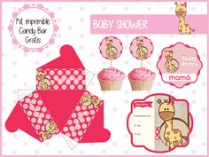 Kit Baby Shower Jirafa