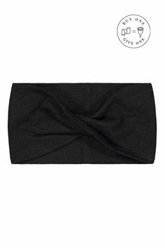 Knitted Cashmere Headband, Black. Feel the softness and warmth of cashmere with this perfect autumn headgear. The stylish and timeless Knitted Cashmere Headband is made of a luxurious blend of cashmere and wool. The headband is made in Nepal following the principles of Fair Trade. Every headband is knit to shape, which means there is no material waste. Shop: www.kaikoclothing.com Fair Trade Clothing, Fair Trade Fashion, Ethical Fashion Brands, Ethical Clothing, Boho Headband, Headbands, Knitting Accessories, Headgear, Clothing Company