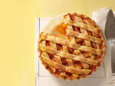 Country Peach Pie recipe from Food Network Kitchen via Food Network