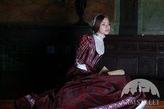 Custom Renaissance Dress Florentine Natural Velvet by armstreet, $830.00
