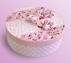 Eu Amo Artesanato: Caixa decorada passo a passo