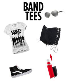 """Linkin Park"" by harley-twitch ❤ liked on Polyvore featuring Ralph Lauren and Vans"
