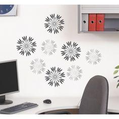 Peel & Stick Reusable Wall Decal - Flowers Pop Daisy