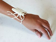 Insect Bracelet 3d printed Sculptures Bracelets - Ahhh! I need this!!