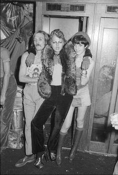 Disco-goers from 82 Club, New York City, 1974 (ph: Allan Tannenbaum)