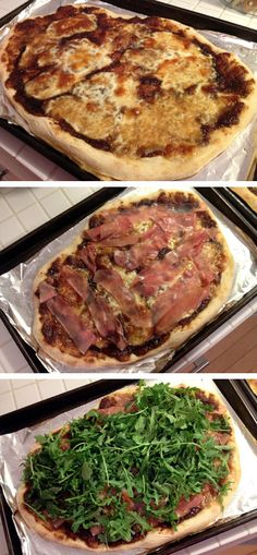 BLOGHUNGRY: Fig-Prosciutto Pizza with Arugula
