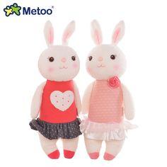원래 metoo 티라미수 토끼 인형 봉제 아이 장난감 8 스타일, 35 센치메터 토끼 동물 라미 토끼 장난감 선물 상자