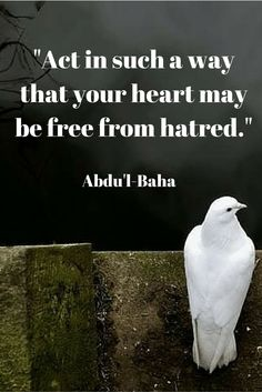 """Act in such a way that your heart may be free from hatred. Cultural Diversity Quotes, Unity In Diversity, Quotes To Live By, Me Quotes, Sufi Quotes, Uplifting Words, Grammar And Vocabulary, World Religions, Motivation"