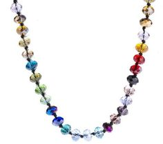 """Joan Rivers Color Theory 56"""" Necklace w/3"""" Extender"""