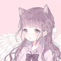 images about ❥┆icons on We Heart It Manga Kawaii, Arte Do Kawaii, Kawaii Anime Girl, Anime Art Girl, Anime Chibi, Couple Anime Manga, Anime Love Couple, Cute Anime Profile Pictures, Cute Anime Pics