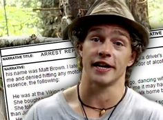 Alaskan Bush People' Matt Brown DUI Arrest — Reality Star Crashed ...