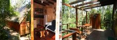5 Beautiful Forest Cabins to Choose From. Rustic design - Fully equipped - Self catering.
