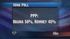 Latest Iowa Polls via The Young Turks on Current TV