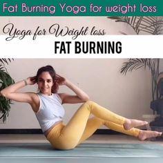 Beginner Yoga Workout, Gym Workout Videos, Gym Workout For Beginners, Yoga Poses For Beginners, Hiit, Yoga Sport, Fat Burning Yoga, Relaxing Yoga, Cool Yoga Poses