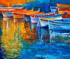 Modern artworkColors2 Modern Impressionism Style by artnikolov