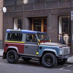 Paul Smith x Land Rover Defender, its not the old one, but i like the color combination somehow :)