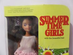 Boxed Airfix The Summertime Girls VERY RARE ITEM 1977 Like Barbie Doll Vintage | eBay
