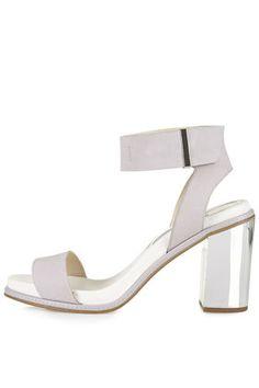 cb08d75b6e7fcf REFLECT Metallic Heel Sandals