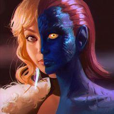 Mystique by Ilya Kuvshinov