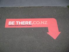 This design uses its shape to demand attention, as people are more likely to take notice of a shape like an arrow.