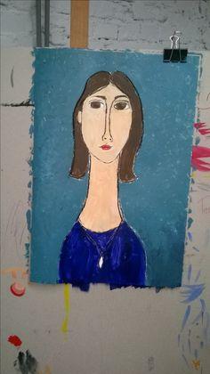 Modigliani,autoportret inspirowany