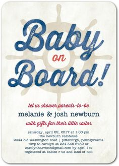Baby on board! Go fo