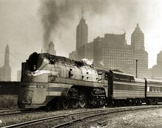 The Hiawatha was more an image and brand name than a particular engine. A streamlining shroud stamped it as a the Milwaukee Road's high speed passenger train.