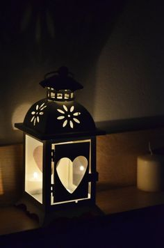 Vintage Moroccan Lantern with heart /wedding lanterns by JasonLab