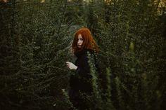 dream portrait, redhair