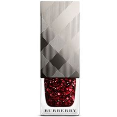 Burberry Glitter Nail Polish/0.27 Oz. (€21) ❤ liked on Polyvore featuring beauty products, nail care, nail polish, makeup, nails, beauty, ruby, burberry nail polish, burberry and shiny nail polish