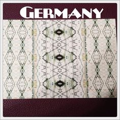 2015-08-22 #Postcard from #Germany (DE-4457588) via #postcrossing #pattern