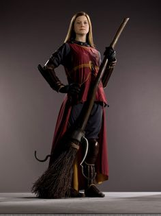GINNY WEASLEY. One of my favorite chararcters, especially Book Ginny.