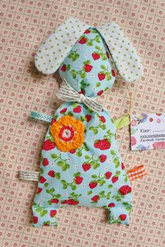www.veertjekoekepeertje.tk label baby knuffel konijn