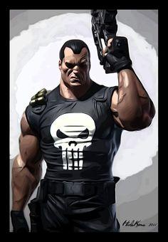The Punisher by HidaKuma.deviantart.com