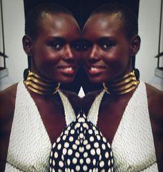 Sudanese American model, niece of Alek Wek