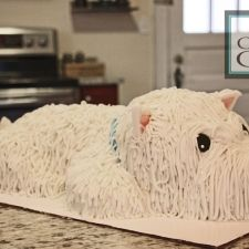 Westie Dog Cake Westies Charlotte Nc Cakes Awesome