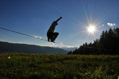 Slackline     - Wonderful Picture! Have a look at some more Slackline Images: http://www.slackline-corner.eu/blog/