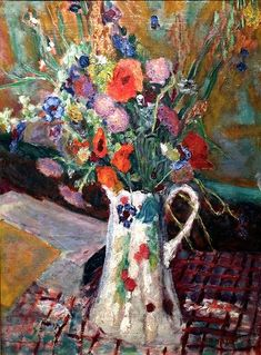 FLOWERS - Pierre Bonnard